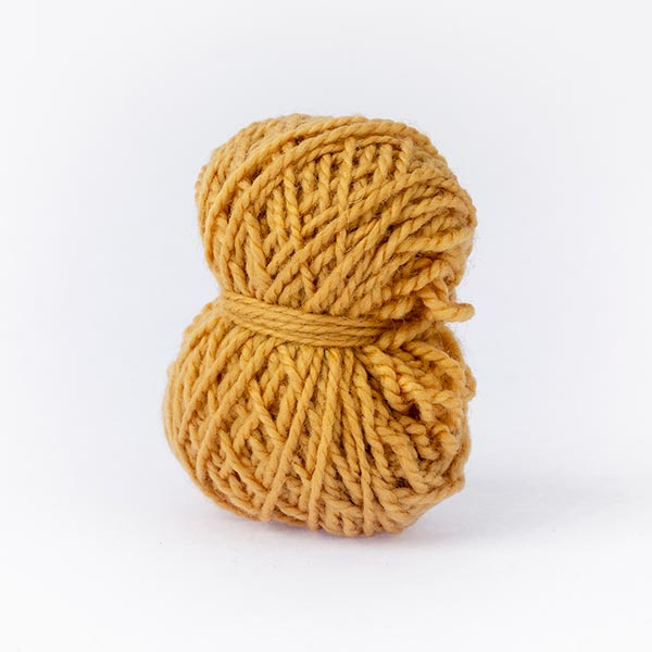 minimoon gold dirty yellow ball of yarn