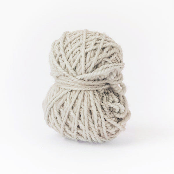 Warm grey donkey mini moon ball of yarn