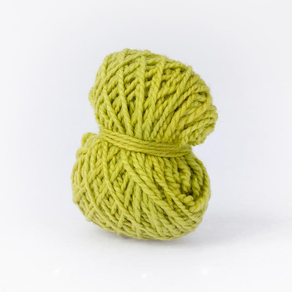 Green ball of Karoo Moon mini moon merino wool