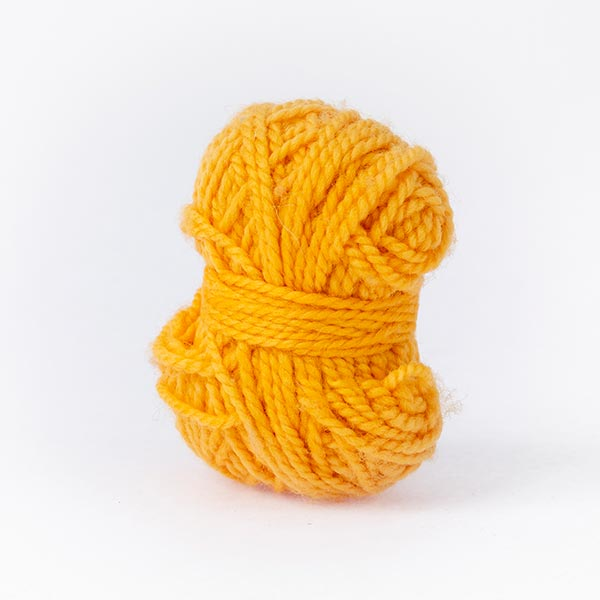 minimoon gold yellow ball of yarn