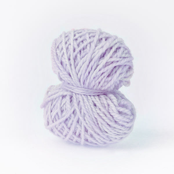 Light purple imagination mini moon wool