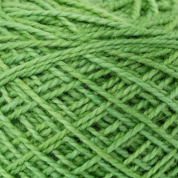 Karoo Moon rich green small ball mini merino wool