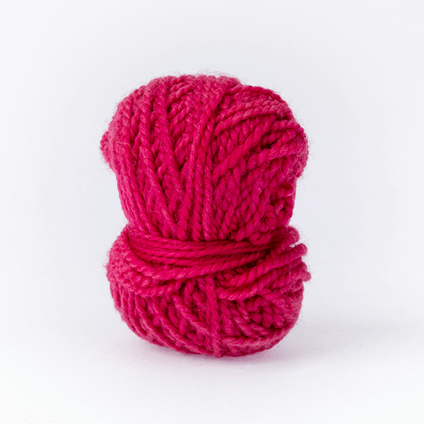 Light Bordeaux red mini moon merino wool