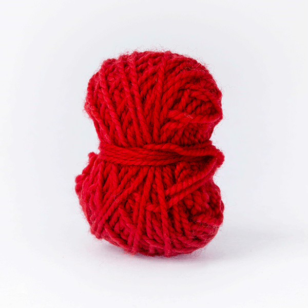London red mini moon merino wool