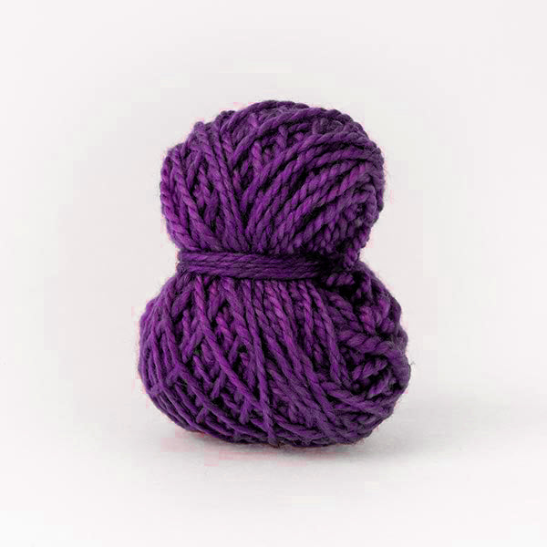 Passion purple mini moon merino wool