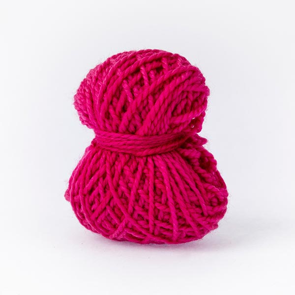 Plink pink mini moon merino wool