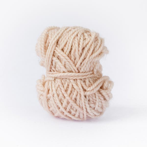 Light beige colour merino wool
