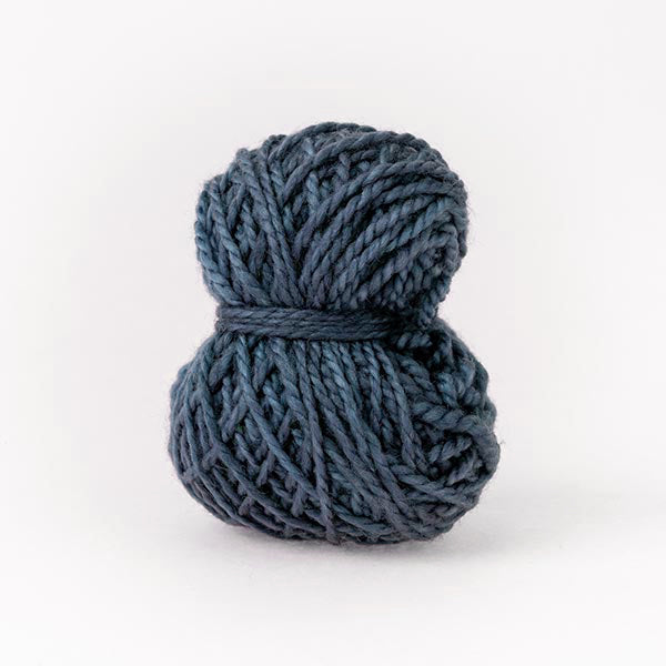 mini moon tom dark blue small wool