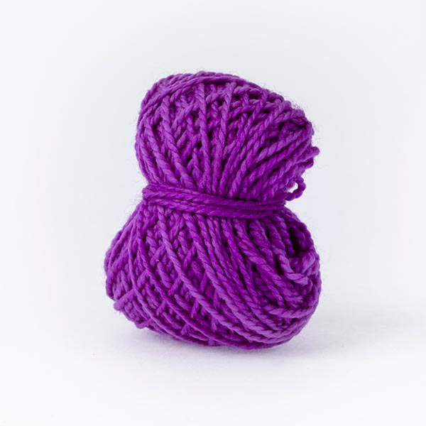 Violet Splash Purple Merino Wool