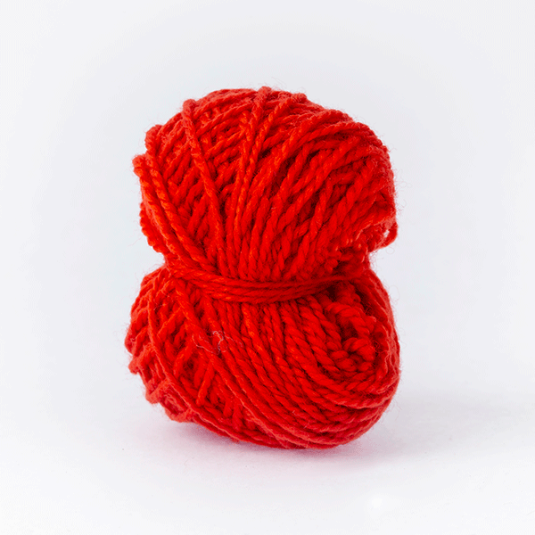 Yummy red mini moon merino wool