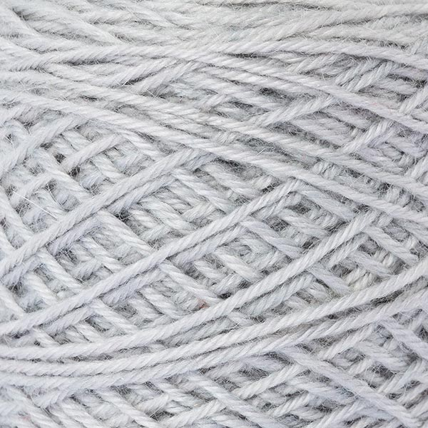 wool blend light grey colour ball of yarn texture detail