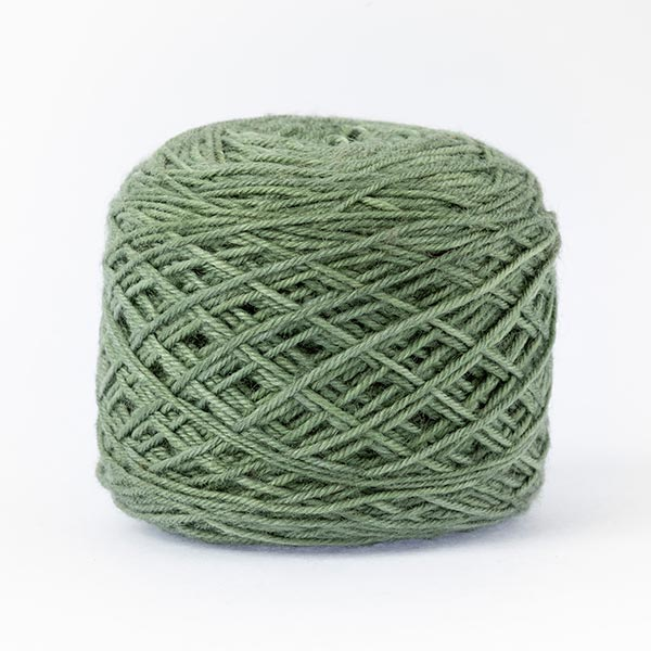 Mistake green mixed moon wool blend