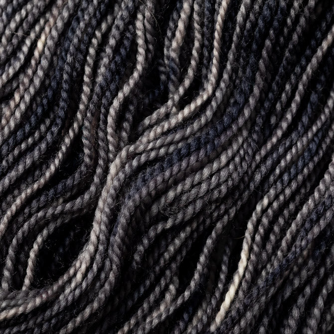 unique moon misty grey skein wool texture