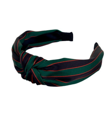 Satin Stripe Headband
