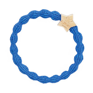 Gold star on Metallic Blue 'By Eloise' Bangle hair Band