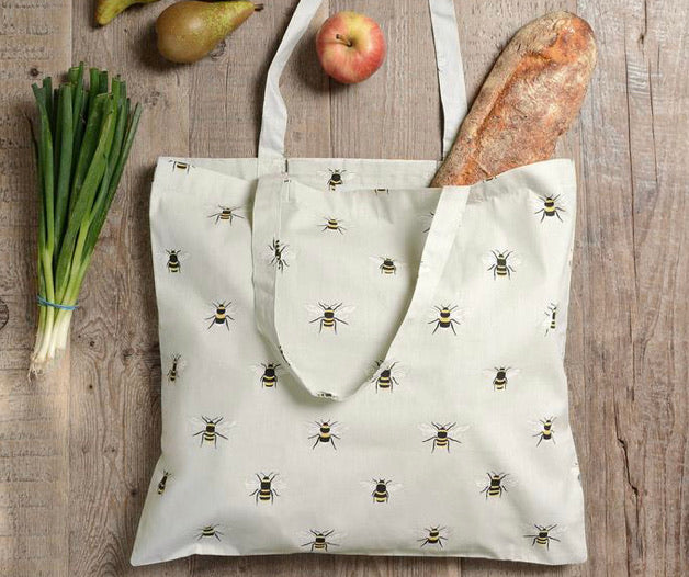 Bee Sophie Allport fold up shopping bag