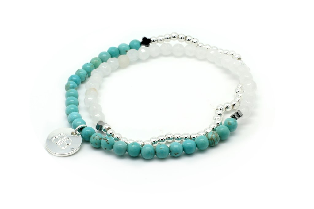 Beautiful Semi-Precious Stretchy Bracelet