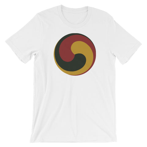 Tibetan Bon Buddhist Wheel of Joy Graphic T-Shirt