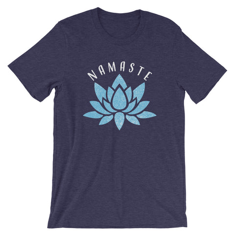 Namaste Lotus Flower Buddhist T-Shirt