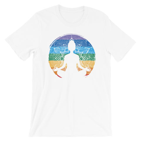 Zen Meditation Buddhist Chakra T-Shirt - New Revel Apparel