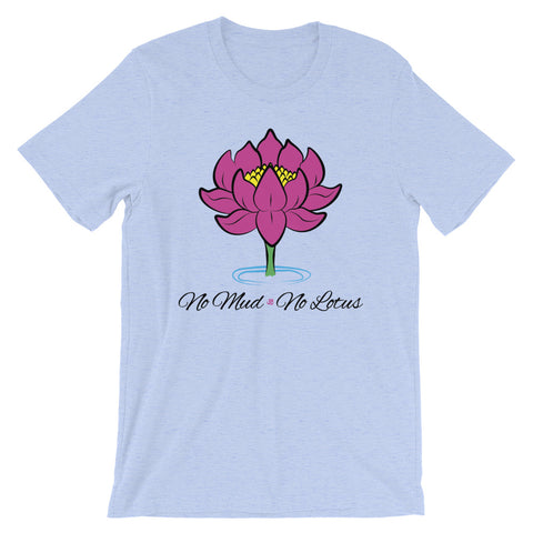 No Mud No Lotus Yoga T-Shirt - New Revel Apparel