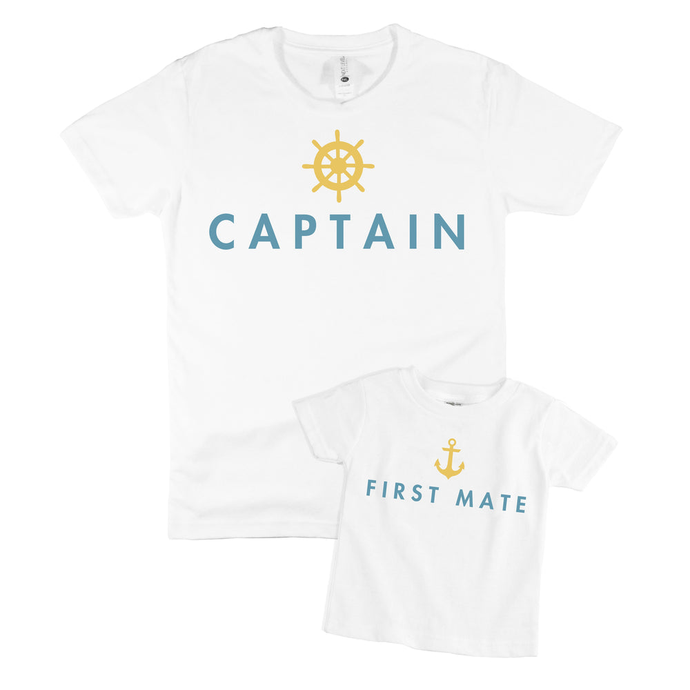 CAPTAIN & FIRST MATE