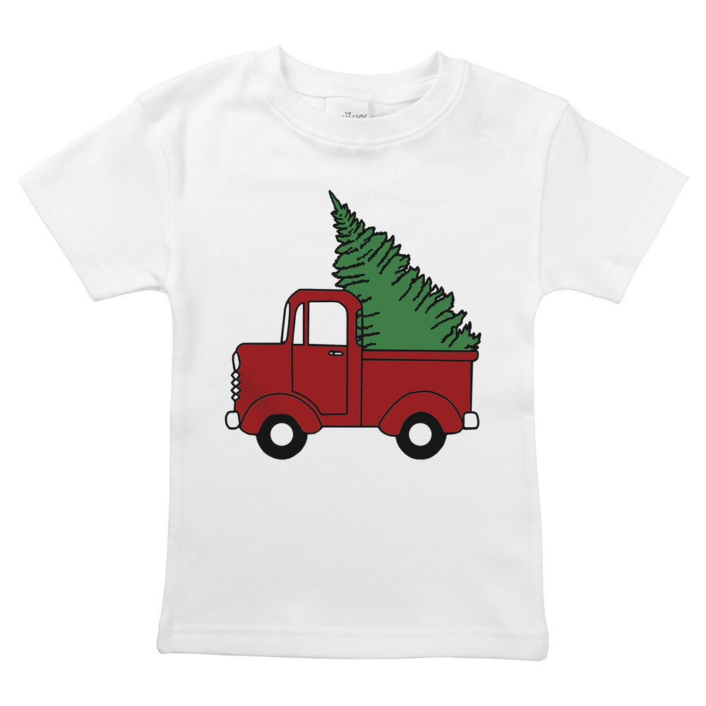 griswold family vacation movie christmas tree station wagon cute holiday organic cotton baby onesie unisex toddler graphic tee shirt design