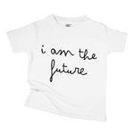 i am the future organic cotton unisex baby onesie toddler shirt