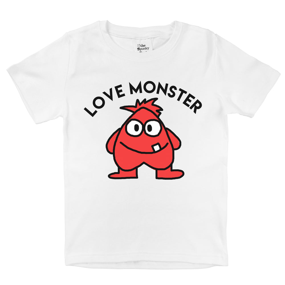 love monster valentines day baby onesie red heart toddler graphic sayings t shirt