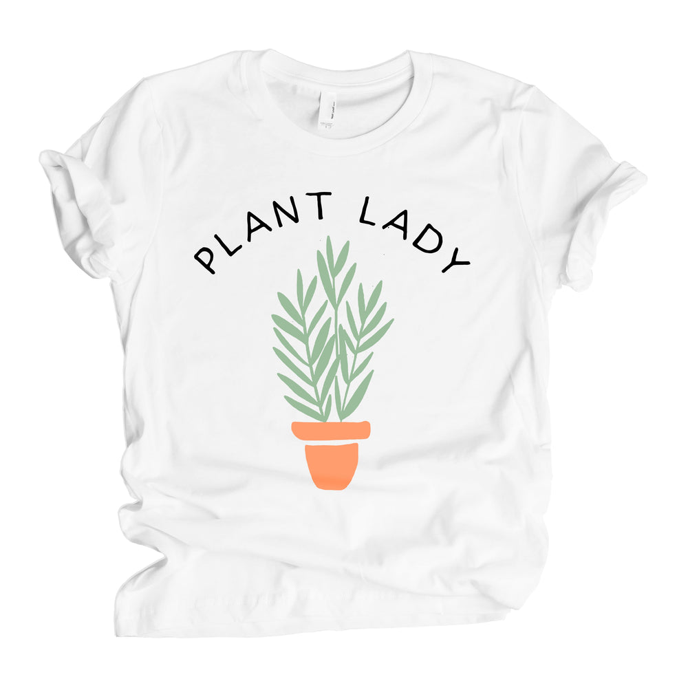 crazy plant lady and baby matching mommy & me vegan baby onesie toddler shirt set