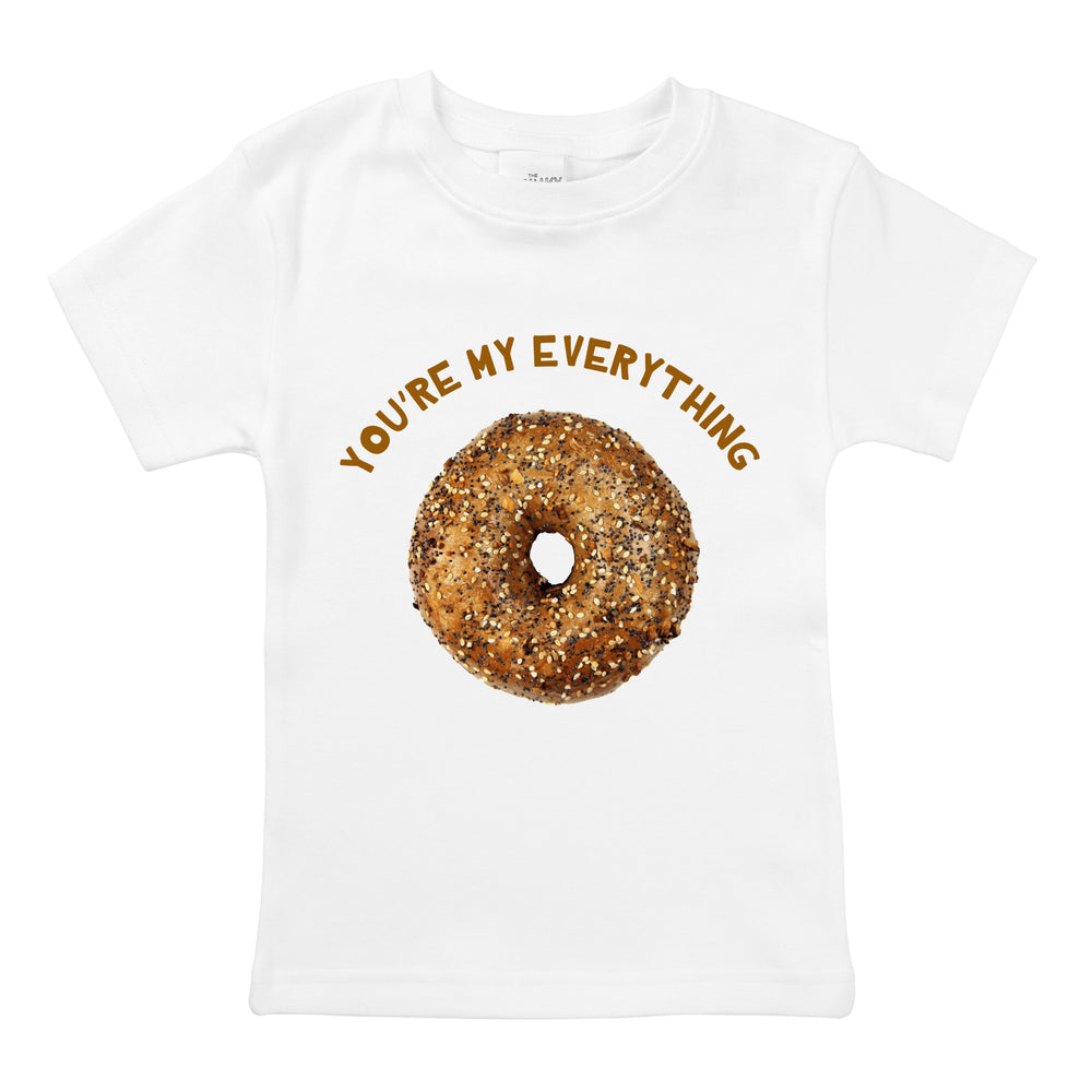 my everything bagel funny valentines day organic baby onesie toddler unisex graphic tee shirt jewish newborn naming gift
