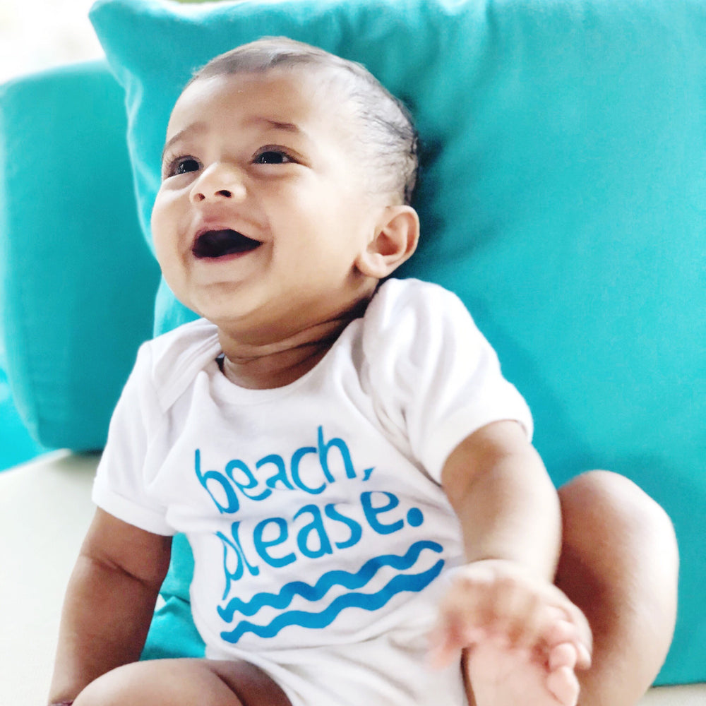 beach please funny organic cotton vacation baby onesie toddler shirt