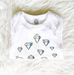 shine on crazy diamonds in the sky organic cotton baby girl onesie toddler shirt