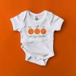 oh my darling clementine huckleberry hound song lyrics orange green organic cotton baby onesie toddler graphic tee shirt