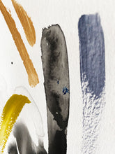 Load image into Gallery viewer, abstract painting, becky pollard, seven sixteen, abstract art, ink painting, ink drawing, ink abstract, denver artist, denver art, colorado artist, colorado art, denver maker, pop art, neon art, colorful abstract, minimal abstract, minimal art, ink splatter, ink splatter art, brushstrokes, heavy brushstrokes, modern art, modern painting, bright art, colorful painting, bright colors, color theory, unique color palette