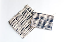 Load image into Gallery viewer, Striped Zippered Clutch, Large