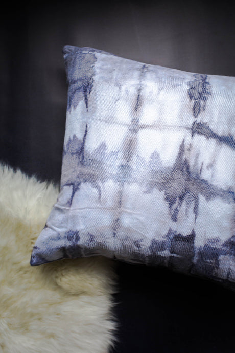 Cotton Shibori Pillow Cover