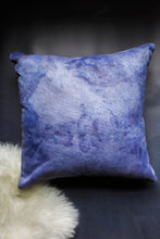 Load image into Gallery viewer, becky pollard, seven sixteen, hand dyed pillow, boho pillow, tribal pillow, blue throw pillow, indigo pillow