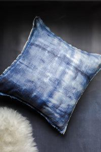 Inside Out Indigo Dyed Pillow Cover
