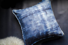 Load image into Gallery viewer, Inside Out Indigo Dyed Pillow Cover