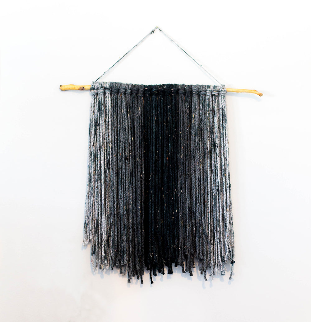 becky pollard, seven sixteen, fiber art, wall hanging, wallhanging, wall art, boho decor, olivia