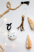 Load image into Gallery viewer, Leather Tassel Ornament
