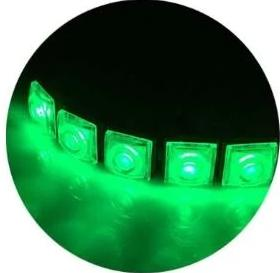 Green Waterproof Marine Boat Signal Navigation LED Light Strip