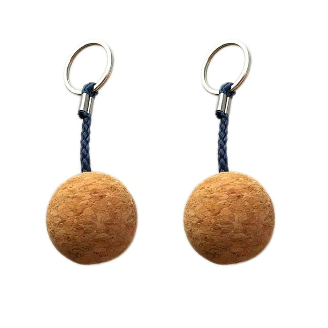 Ultralight Cork Floating Keychain