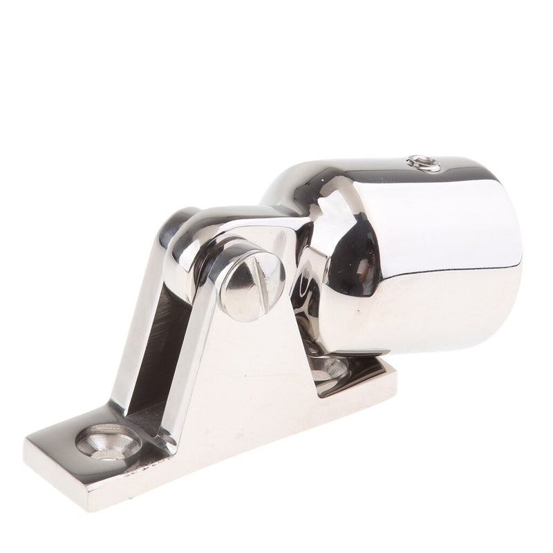 Stainless Steel Bimini Top Deck Hinge Mount