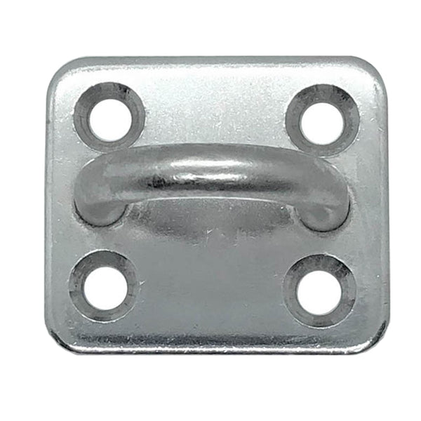 Stainless Steel Square Pad Eye Plate