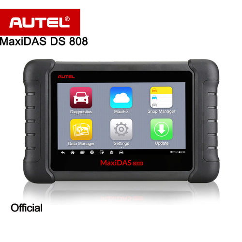 Autel MaxiDAS DS808 Automatic Diagnostic Scanner Smart AutoVIN technology 1 Year Worry-Free Update