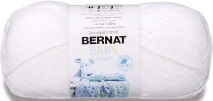 Bernat Big Ball Baby Sport Yarn, Baby White
