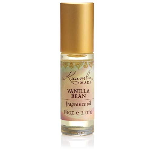 Kuumba Made, Fragrance Oil RollOn 3.7 ml 1Unit, Varies, Vanilla Bean, 0.13 Fl Oz