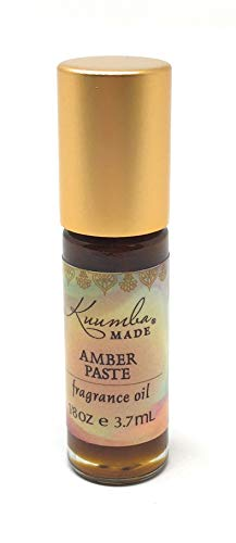Kuumba Made, Fragrances 18oz 3.70ml, Varies, Amber Paste, 0.125 Fl Oz
